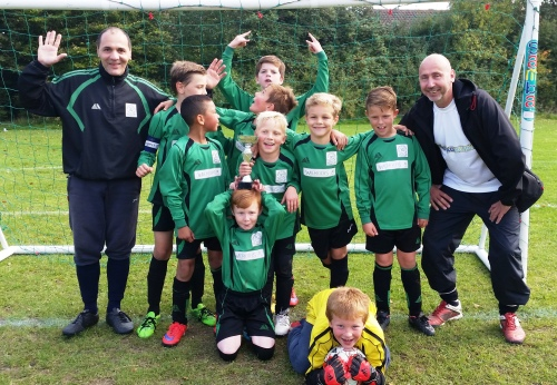 Harmony for the U10s with Guido and Wayne ... Tommy is our PoM