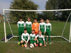 The Youth Colts on Saturday wearing their fantastic new strip sponsored by KC Scaffolding