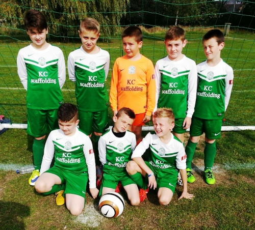The Youth Colts before their game on Saturday