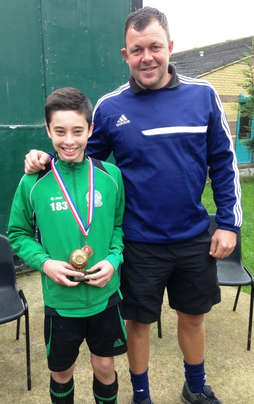 U14s PoM at West Farleigh was Louis Phelan