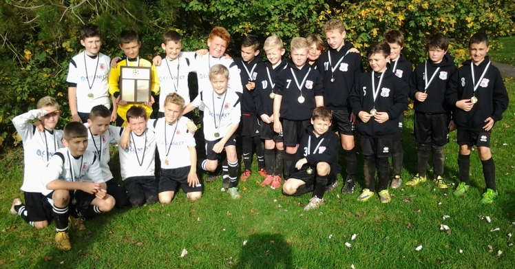 Finalists in the U10s Respect Event Faversham Town and Park Farm Rangers. Town emerged 2-1 victors.