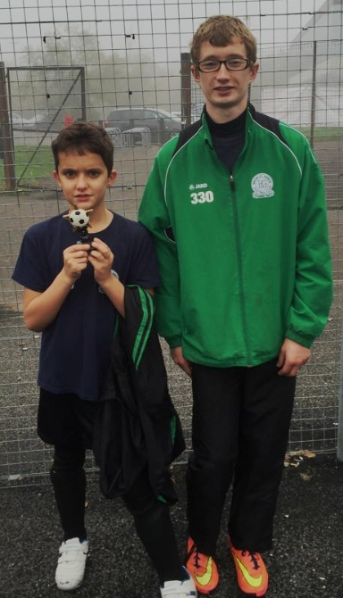 Ruben Cook Santana is the BGV U11s Player of the month
