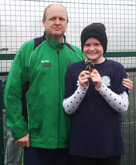 Well done Amy! BGV U13s Player of the Month