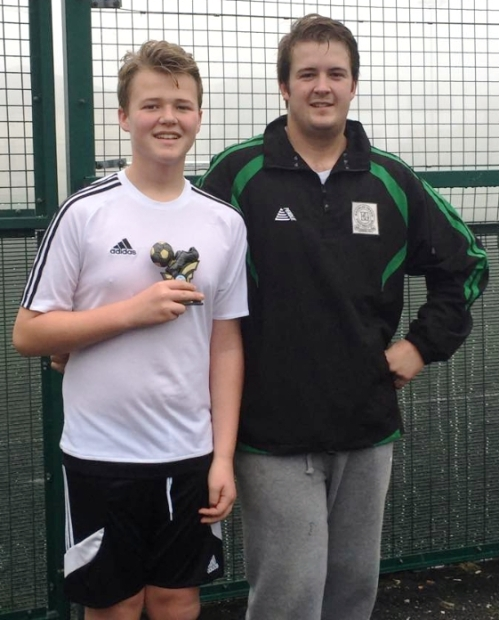Thomas ... BGV U16 Player of the Month