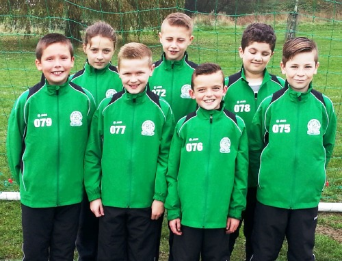 The Youth Colts looking smart in their clubwear sponsored by Skoda Caffyns