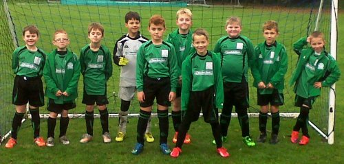The U9s before yesterday's game