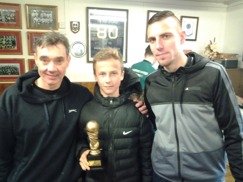 Kuba earned the Player of the Match accolade for the U14s on Sunday afternoon
