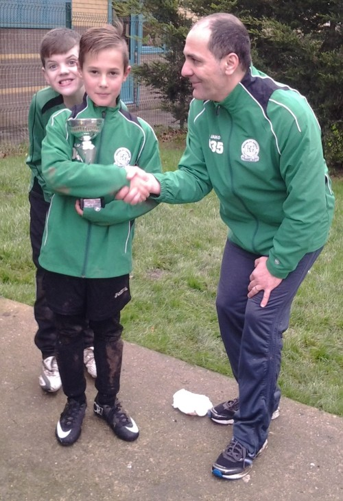 Well done Maciek ... U10s PoM [Oscar being Oscar!]