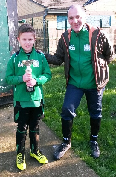 Player of the Match for the U10s was Joe