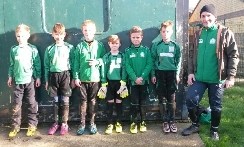 The U10s who enjoyed a 7-goal thriller with Smeeth & Brabourne