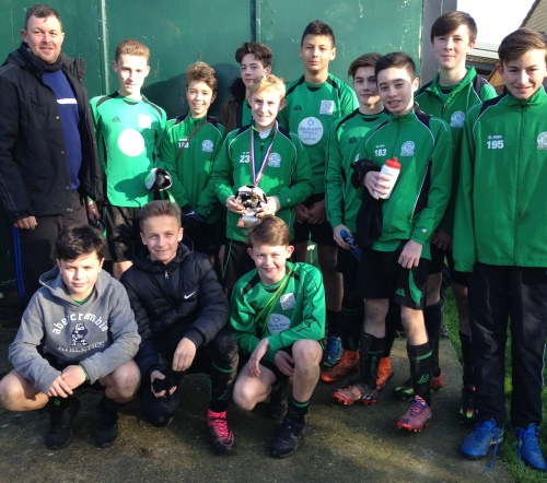 Title favourites Green who recorded a 14-0 victory yesterday