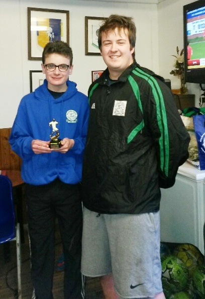 Congratulations to our U16 Player of the Tournament, Toby