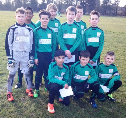 Bromley Green U12s, sponsored by Brailsford Rowe Accountancy