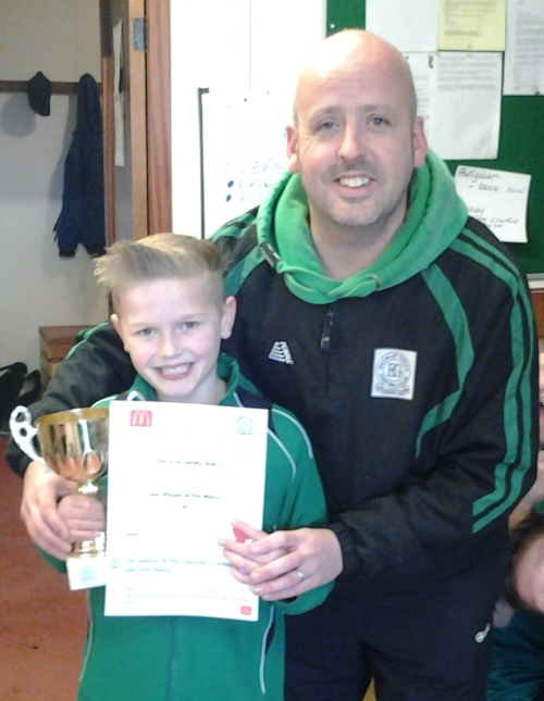 Kodi is our McDonalds U10s Pkayer of the Match