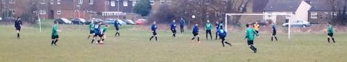 First half action