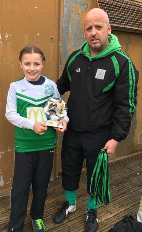 Nicole is our McDonalds Player of the Match for the excellent Under 10s at Waterside today