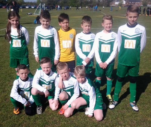 Two draws and one defeat for the U10s today