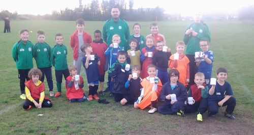 Little Ones turned out in force for training