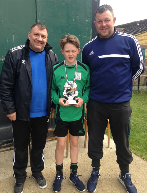 Congratulations Sonny: Bromley Green Player of the Match at West Farleigh today