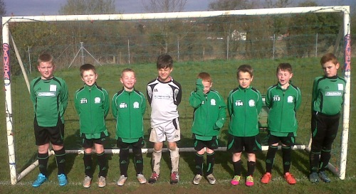 The Under 9s today away to Park Farm