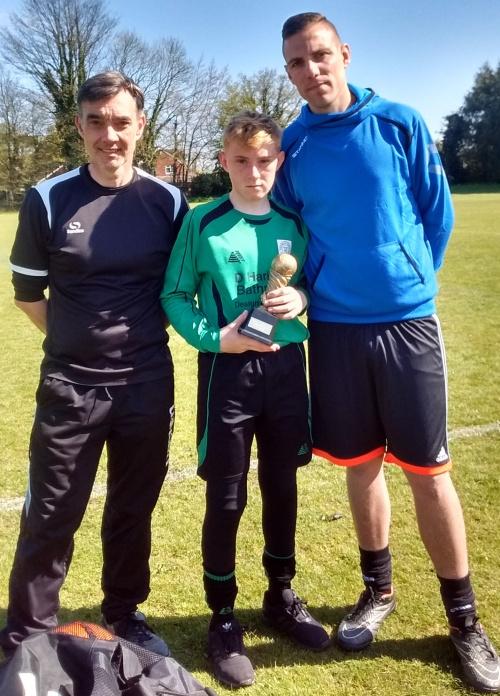 Well done to the U14s PoM today, Reece Blyth