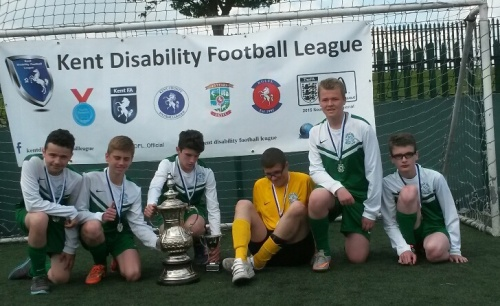 League runners-up but what a great effort ... well done everyone!