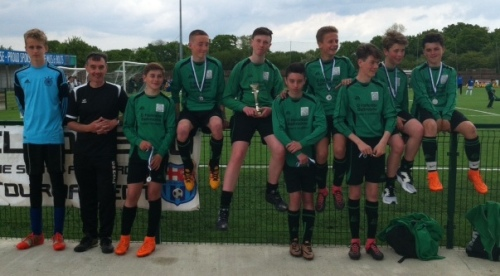 Fantastic effort by the U14s who were pipped by penalties today