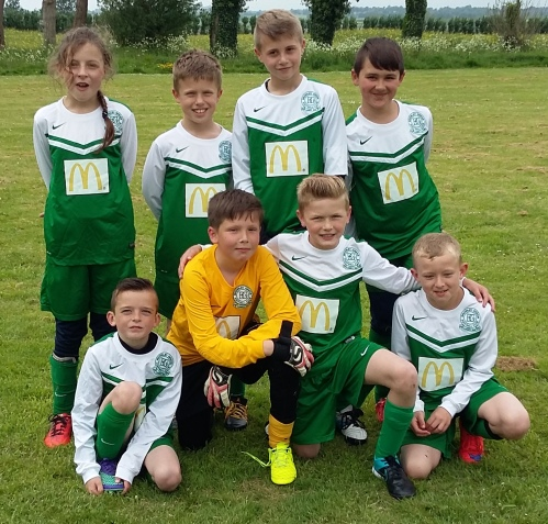 The BG U10s who enjoyed their day out