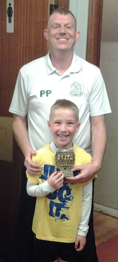 Well done our U9s Player of the Tournament