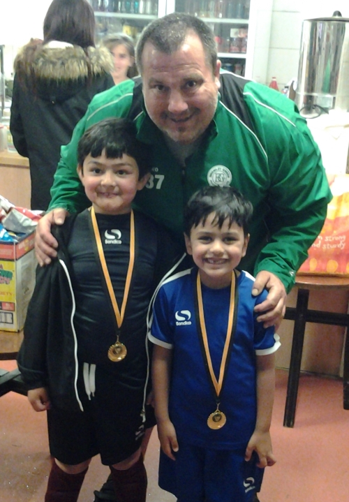 Medals for the players who missed out on Sunday!