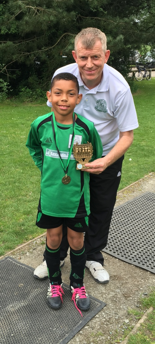 Well done Ruben ... Player of the Tournament at Waterside today for the U9s