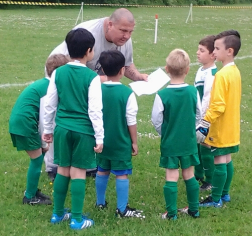 Gaining experience are the Under 7s