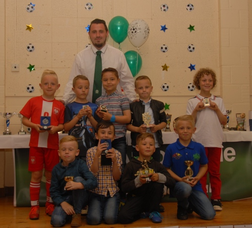 James Porter and the Under 8s
