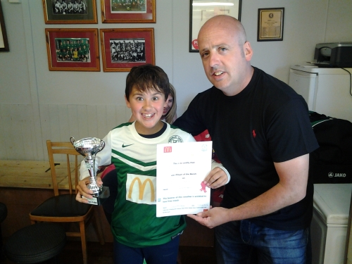 Fantastic effort by Stanley ... McDonalds Player of the Match today