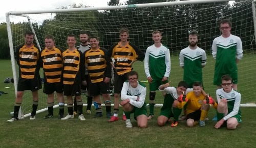 Yesterday's finalists Folkestone A and Bromley Green A