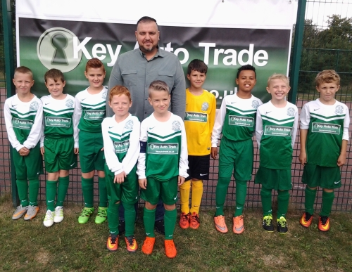 Proud to be Green boys [and man!] ... Khaled at the EKYL U10s who had a fantastic time at the Festival staged at Waterside