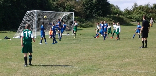 The Green U13s were in irresistible form, hammering in 13 goals without reply