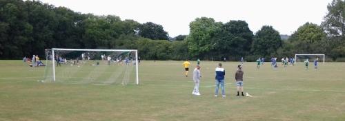 Sunny Sandyacres where Dynamo and the Green provided an entertaining match
