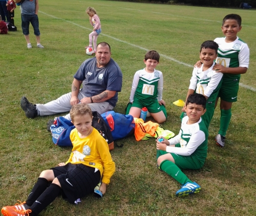 U8s Colts relax and welcome new signings Bradley Williams and Cyrus Dundo this Saturday