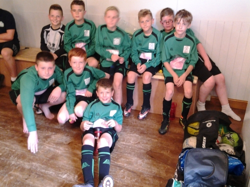 The U12s who this week meet Wye Juniors at Waterside