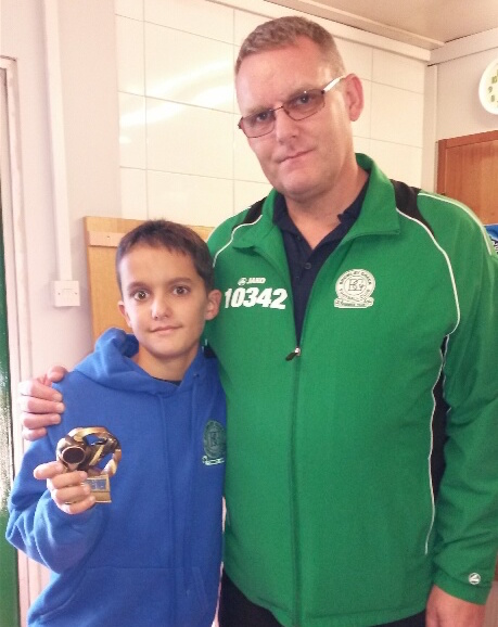 Ruben is our young Valiants Player of the Tournament at Rainham