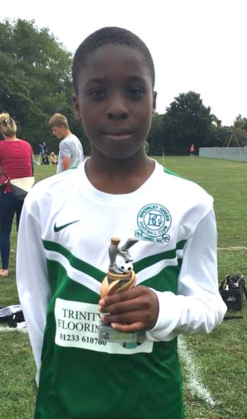 Gift was the U14s Player of the Match at Biddenden today in 3-3 draw