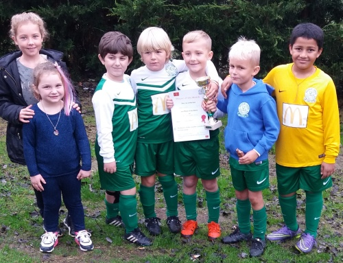 The U8 Colts who are rebuilding