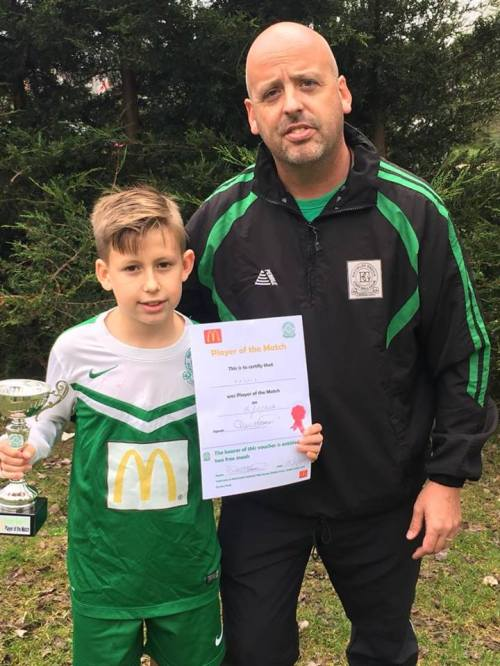 Archie Crocker repaid the belief of his manager Sid with a five-star performance this morning