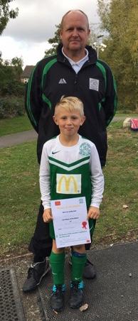 Bradley win the McDonalds voucher ... congratulations!