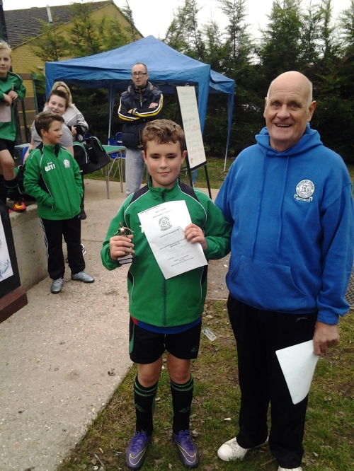 Coleton is our U12s Player of the Match on Saturday