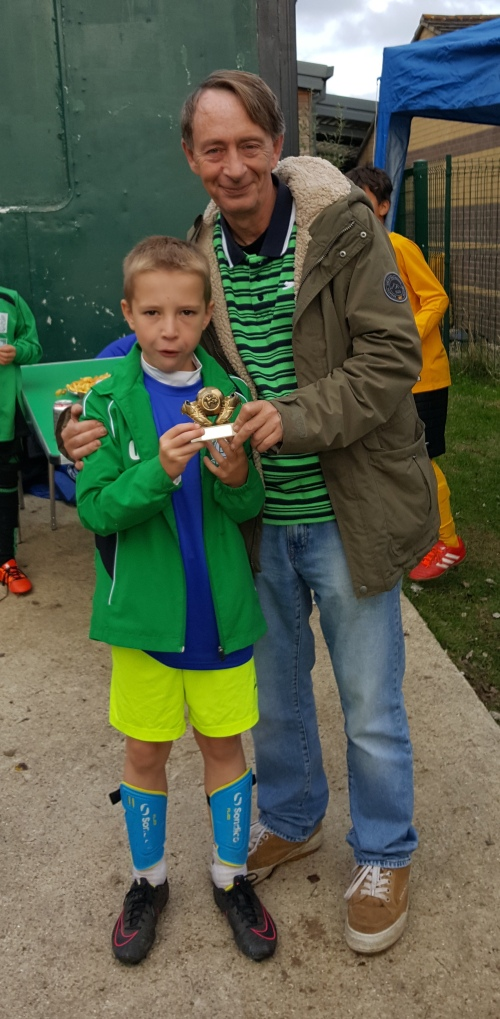 Well done Connor! Player of the Match for the U10s EKYL on Saturday with Vice-President Mark Day