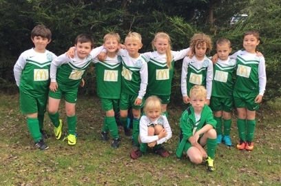 The U8s had a great time despite the Festival being called off