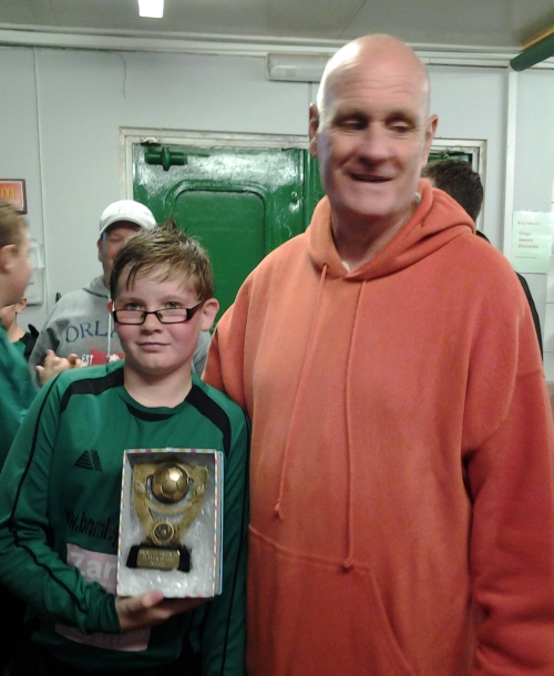Our U12s goalscorer today was Callum with Jake taking the Player of the Match accolade ... well done!