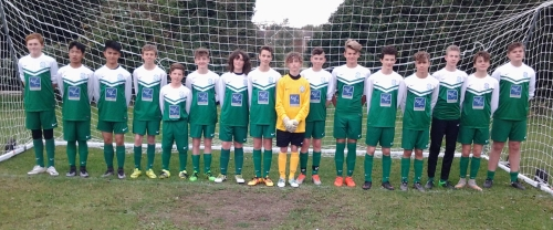 Bromley Green U15 Colts, sponsored by Karl Terry Roofing